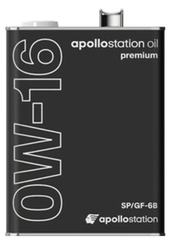 アポロステーション プレミアムオイル SP/GF-6B 0W-16